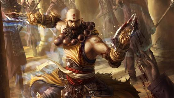 Diablo 3 : Build Moine La Tenue des mille tempêtes, Frappe Éclair, guide