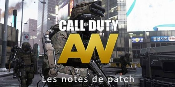 Patch Advanced Warfare : Xbox, PS4, PC