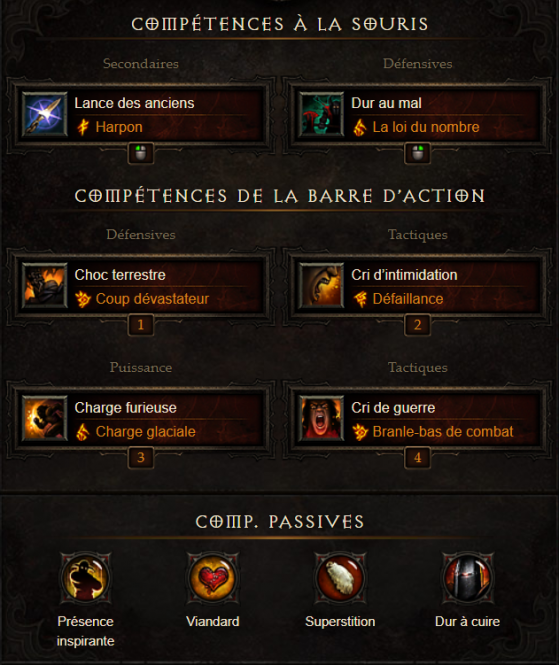 Barbare support 2.6.5 & Saison 17 - Diablo 3