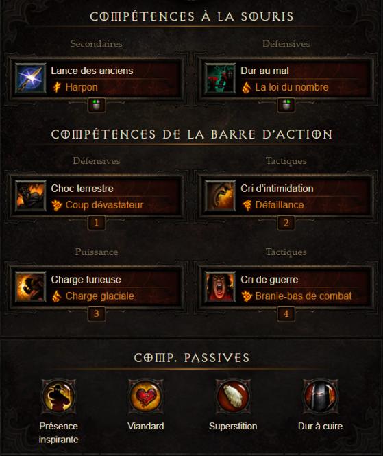 Barbare support 2.6.5 & Saison 17 - Diablo 3