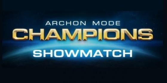 Showmatch Mode Archonte BlizzCon SC2