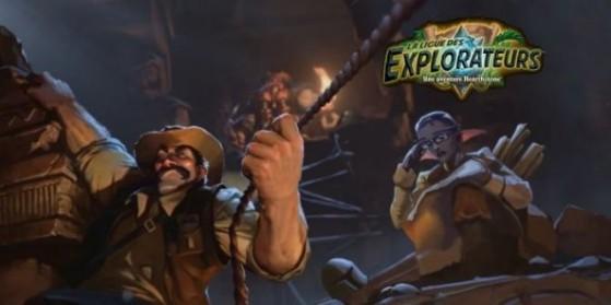 Nouvelles cartes, Ligue des Explorateurs