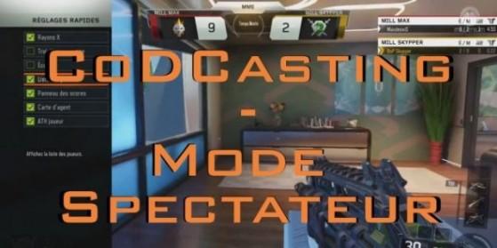 Black Ops 3 : CoDCasting, mode spectateur