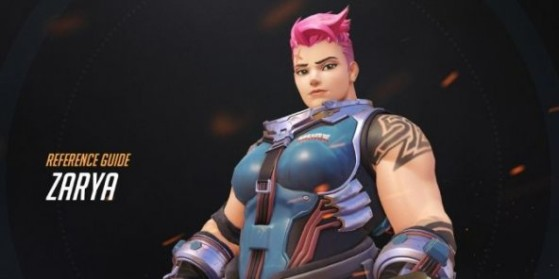 Overwatch : Cosplay de Zarya