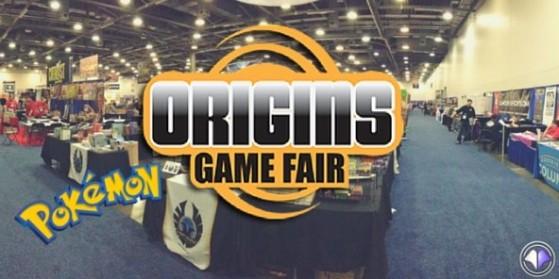 Pokémon présent à l'Origins Game Fair