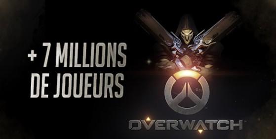 Overwatch, plus de 7 millions de joueurs