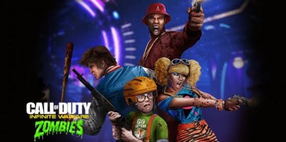 Les personnages de Zombies in Spaceland