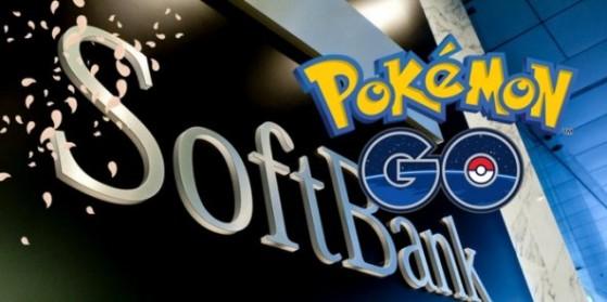 Partenariat Pokémon GO & Softbank