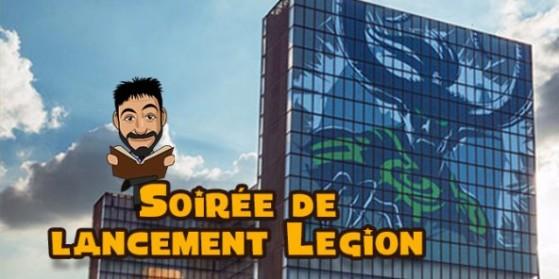 Soirée de lancement de Legion