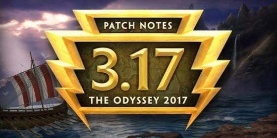Patchnotes 3.17: L'odyssée 2017