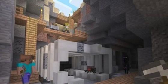 Minecraft :  Mise à jour consoles