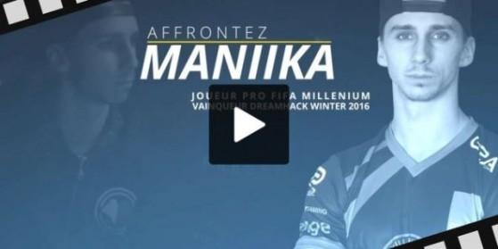 Jouez contre Maniika en live à 17h00 !
