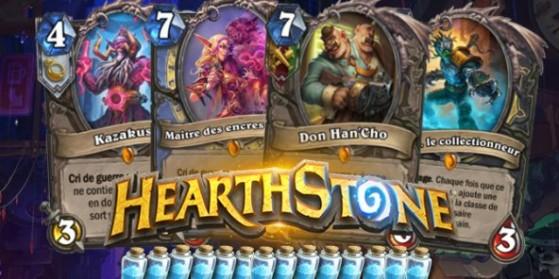 Hearthstone, cartes légendaires Gadgetzan
