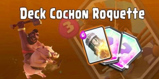 Deck cochon roquette, Arene 8