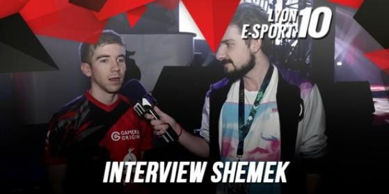 Interview Shemek à la Lyon e-Sport #10