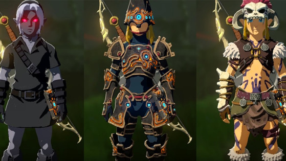 Breath Of The Wild Dark Link >> Guide Obtenir Le Set Dark Link Millenium