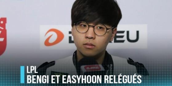 Les ex-SKT Bengi et Easyhoon relégués