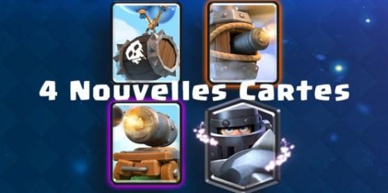 Clash Royale, nouvelles cartes annoncées