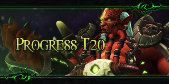 Progress du T20 de raid de Legion