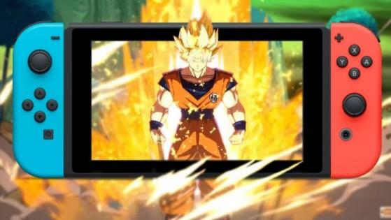 Dragon Ball FighterZ sur Nintendo Switch