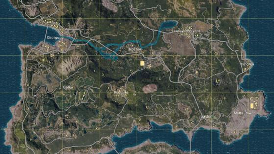 Playerunknown S Battlegrounds Maps Loot Maps Pictures: Une PARTIE De Pubg Sur La Map Miramar