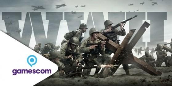 Stream Call of Duty WW2 Gamescom