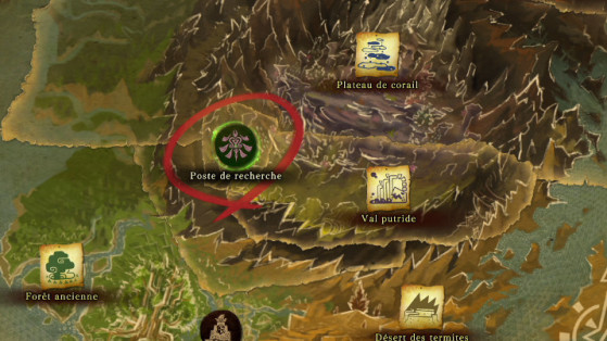 Monster Hunter World : Cartes