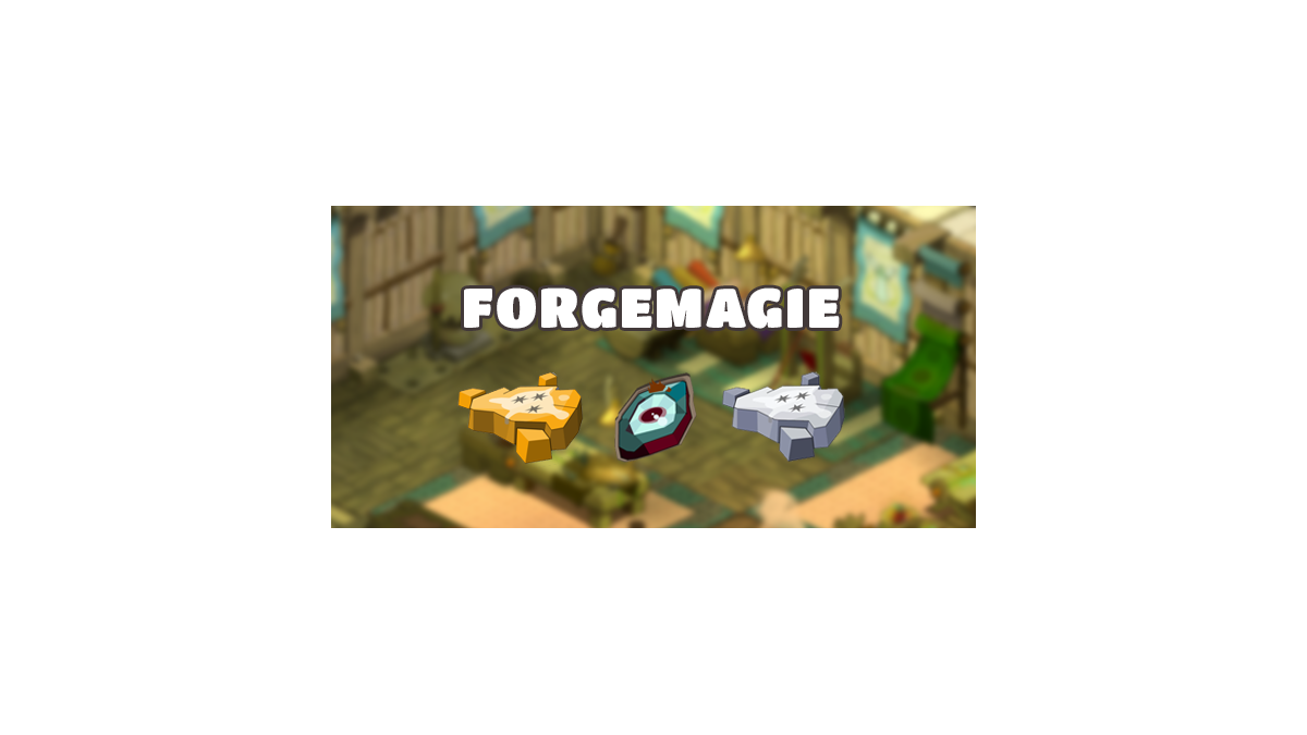 Dofus Guide Forgemagie Millenium