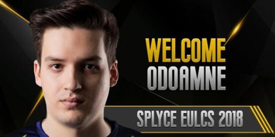 Oddoamne rejoint Splyce