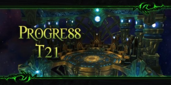 Progress du T21 de raid de Legion