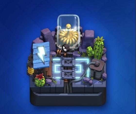 Visuel de la nouvelle arène : la Vallée électrique ! - Clash Royale