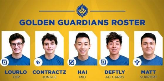 Les Golden Guardians se dévoilent