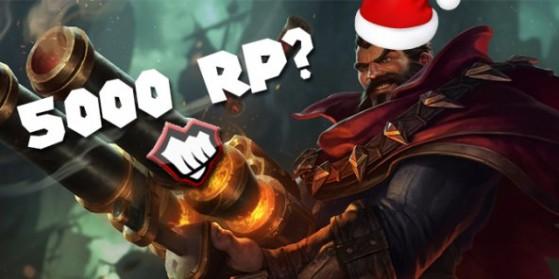 Cadeau de Noël : 5000 RP pour un joueur