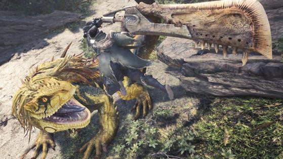 Monster Hunter World : Grand Jagras
