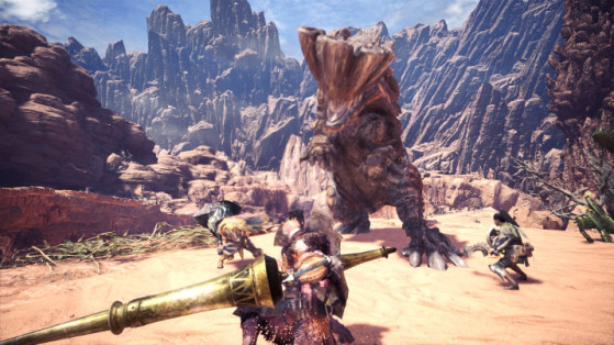 Monster Hunter World : Barroth