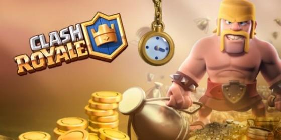 Un Boost Gold gratuit sur Clash Royale