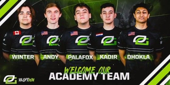 OpTic Gaming dévoile son équipe Academy