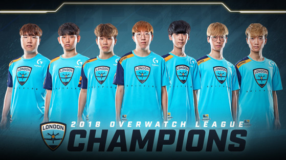 Overwatch League - Saison inaugurale Playoffs Finale : Spitfire Champions !