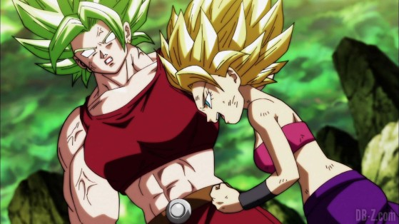Kale (gauche) & Caulifla (droite) - Dragon Ball FighterZ