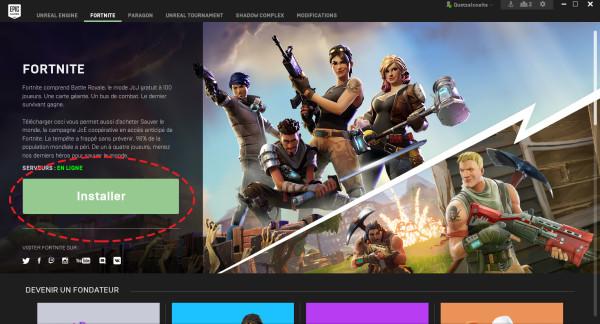 Fortnite : télécharger et installer sur PC - Millenium