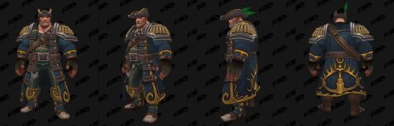Le set héritage sur un Kultirassien - World of Warcraft