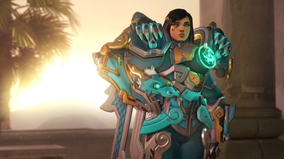 La skin Qinglong de Pharah - Overwatch