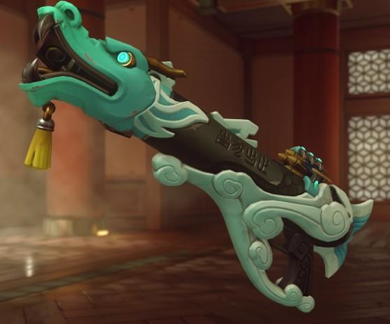 Le lance-roquettes Dragon Azur de Pharah - Overwatch