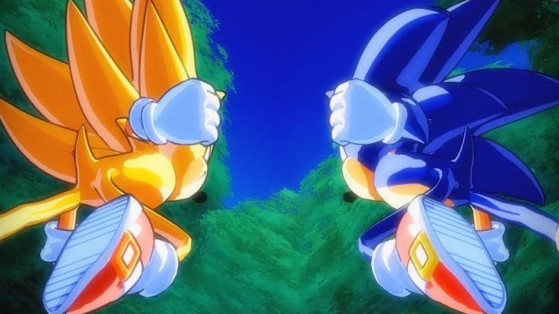 Dragon Ball FighterZ : Un Mod pour Sonic