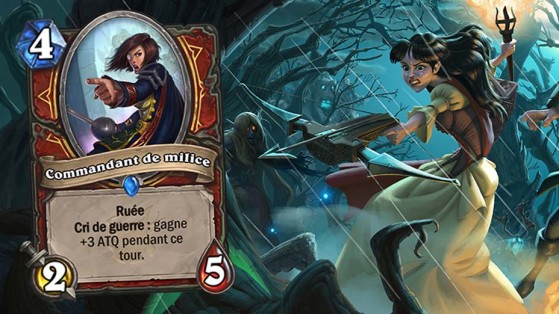 Hearthstone : Extension Bois maudit, Mécanique Ruée (Rush)