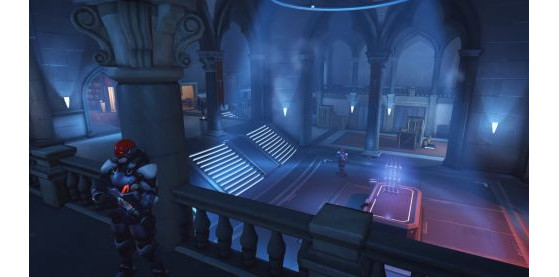 Rialto de nuit (intérieur) - Overwatch
