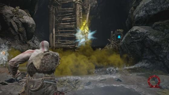 Juste à gauche de l'image - God of War