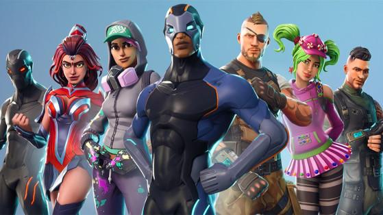 Fortnite : les skins du passe de combat Saison 4