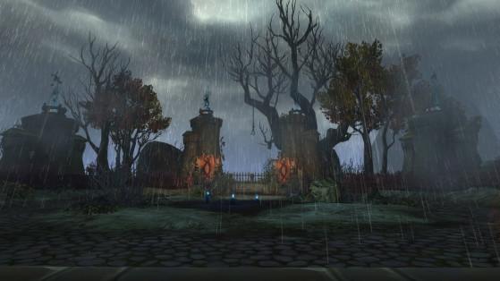 Le lieu de la rencontre avec le Goliath des âmes - World of Warcraft