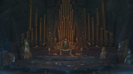 Le lieu de la rencontre avec Seigneur et Dame Malvoie - World of Warcraft